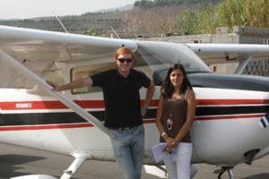 Experiencia en vuelo